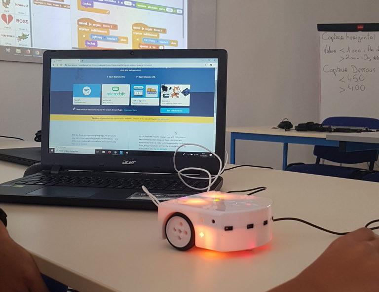 Stage de vacances : J'apprends à programmer des robots Thymio/Mbot avec Scratch