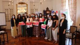 Les lauréates du 2 eme Startupweekend women